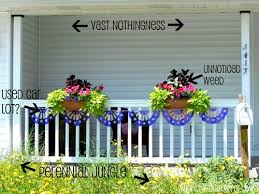 front porch flowers text