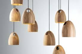 wooden hanging light fixtures oak pendant lamps by home decorations