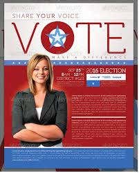 Campaign Poster Template Free Awesome School Board Campaign Flyer