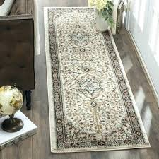 4 x 12 runner rug traditional oriental cream beige 2 vintage ivory silver traditiona