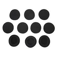 Buy Imported 5 Pairs Black Replacement <b>Ear Cushion</b> Pads for ...