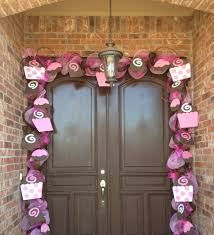 Valentine Door Decoration Ideas Brilliant Outdoor Valentine Porch Inspiring Design Integrate