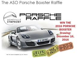 2018 porsche raffle. simple 2018 ashevillesymphony12182016raffle2016porsche on 2018 porsche raffle