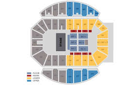 Crown Coliseum Fayetteville North Carolina Seating Chart Seating Charts Crown Complex