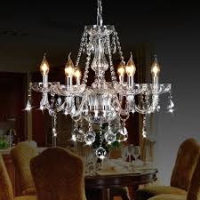 glamorous candle chandeliers rustic candle chandelier luxury with crystal hanging seat table interesting
