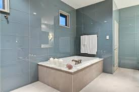 large glass tile the retreat 1 large glass subway tile shower