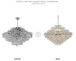 circa lighting sanger small chandelier 3570 vs lamps plus essa wide chrome crystal pendant 800