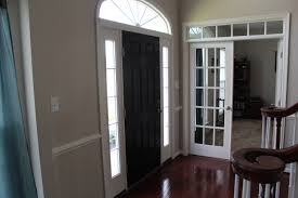 Black Glass Front Door - Hardwood exterior doors and frames