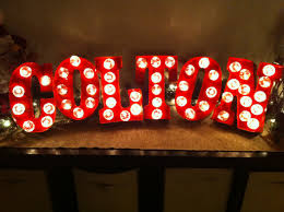 Marquee Sign With Lights Make Your Own Marquee Sign Organizedchaosonline