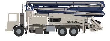 36z meter truck mounted concrete boom pump boom pumps animations