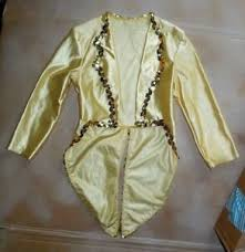 Wolff Fording Size Chart Details About Nwot Wolff Fording Gold Satinette Tailcoat Small Child Gold Sequin Trim