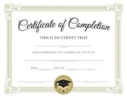 School Certificates Template Free Certificate Templates And Awards Printable School