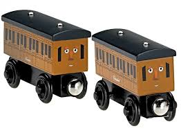 thomas friends fisher wooden railway annie and clarabel fisher y4422