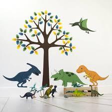 dinosaurs wall sticker