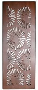 flower design laser cut metal art for garden wall on die cut metal wall art with designs decopanel designs australia silhouette laser die cuts
