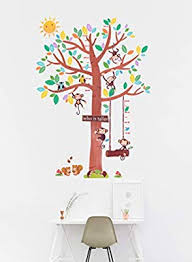 Goldencart Cute Kids Growth Chart I Large Height Chart For