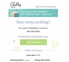 Order Confirmation Exciting Order Confirmation Emails Excited Customers