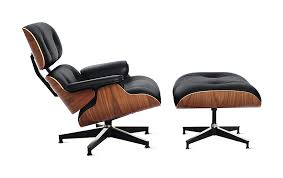 Eames Lounger Nice Design EAMES LOUNGER White Leather 2jpg .
