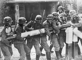 German troops reported to have entered Poland