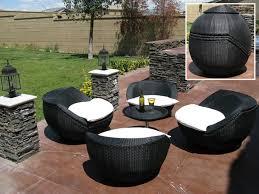 12 Stylish Outdoor Furniture FindsBlack Outdoor Wicker Furniture