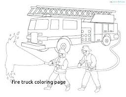 Fire Truck Coloring Pages Printable Trustbanksurinamecom