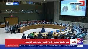 بدء جلسة مجلس الأمن حول سد النهضة الإثيوبي (بث مباشر)