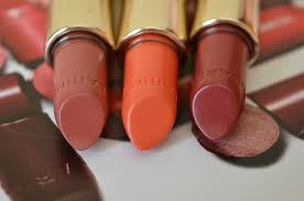 Clarins Joli Rouge Lipsticks Papaya Soft Berry Grenadine.