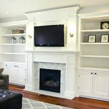 tv over fireplace ideas beside on wall above design