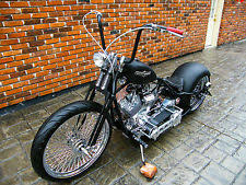 build old school choppers bobber motorcycle