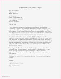 Sample Finance Internship Cover Letter Cover Letter Sample Internship Finance Valid Finance Internship