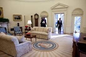 pictures of oval office. Historic Photo: Obama Enters The Oval Office For (maybe?) First Time, January 2009. Pictures Of