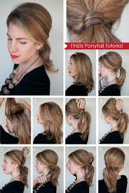 Hairstyles For School Step By Step 60 Simple Diy Hairstyles For Busy Mornings Pony Tails Style And