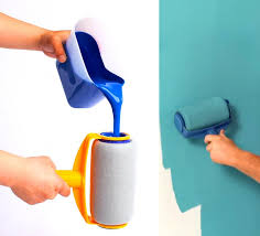 while painting the walls in your home you probably have to re dip that paint roller into the tray of paint about a hundred times before you re done with