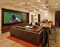 Inspiration for a timeless home theater remodel in San Francisco with a  projector screen