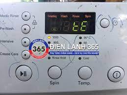 Máy giặt LG báo lỗi tE - Điện Lạnh 365