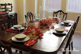 ... Dining Room With Table Dinner Table Decoration For Popular Everything I  Used Were Things I Already Had My Mom Had ...