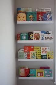 diy kids bookshelves from ribba ledges via cindyjespinoza