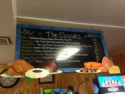 return to new york walk down memory lane little fat notebook brewster hill general store menu of classic sandwiches