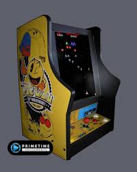 pacman galaga and ms pacman 25th anniversary limited edition countertop unit primetime amusements