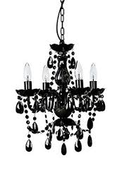 small black chandelier the original gypsy color 4 light small black chandelier h18 w15 black metal