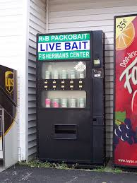 Bait Vending Machine Custom Live Bait Vending Machine Vending Machines Pinterest Vending