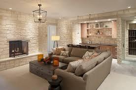 basement idea. Elegant Basement Hangout With Bar And Wine Cellar [Design: Scott Christopher Homes] Idea S