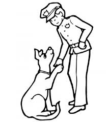 Small Picture Police Dog Coloring Pages PrintableDogPrintable Coloring Pages