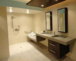 Bathroom Inspiring Modern Handicap Bathroom Design Handicap - Handicap accessible bathroom floor plans