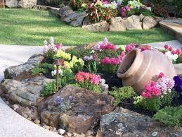 63 beautiful front yard rock garden