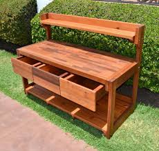 Potting Bench Free Potting Bench Plans With Sink Easy Diy Idea Projects And