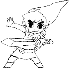 toon link coloring pages. Interesting Coloring Toon Link Coloring Pages 69 With And L