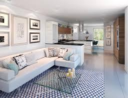 Pleasing Kitchen Living Room Design