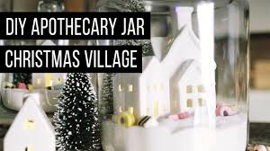 Apothecary Jars Christmas Decorations DIY APOTHECARY JAR CHRISTMAS VILLAGE 100 GOODWILL CHALLENGE YouTube 90