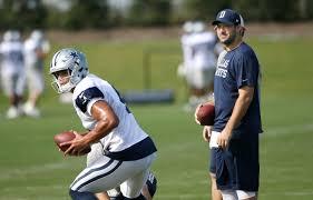 Cowboys Depth Chart 2016 Tony Romo Concedes Cowboys Starting Job To Dak Prescott